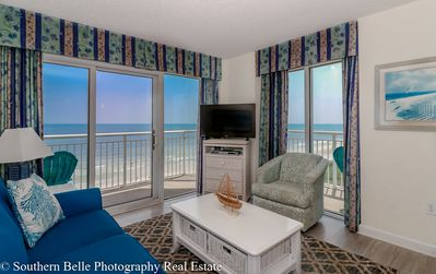 Photo for luxury  wrap around balconies 2 Bed/2 Bath unit 940 Ocean Front At Bay Watch