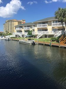 Harbor/Canal view-PVT Deck/covered parking/free beach chrs/umb ;PVT Beach; WIFI