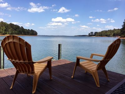Photo for It's A Great Dam View! LAKEFRONT Family-Friendly 4BR/3B Cottage at Lake Hartwell