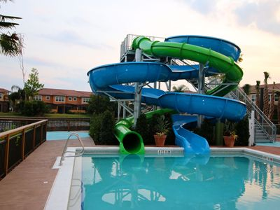 Photo for 3 Miles to Disney, New POOL/Water Slides, Free WiFi/Parking, no Resort Fee