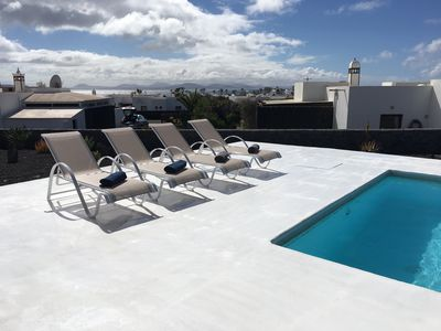 Photo for Villa Lola, Playa Blanca, private pool and wonderful views of Fuerteventura