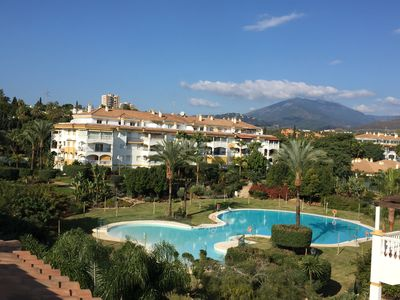 Photo for Puetro Banus Penthouse: West facing & Pool facing 3 bed 2 bath with Free WIFI