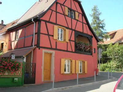 Photo for CHARMING COTTAGE 3 *** IN ALSACE ON THE WINE ROUTE A KINTZHEIM