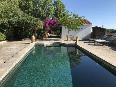 Photo for Romatic house with beautiful swimming pool, yoga retreat