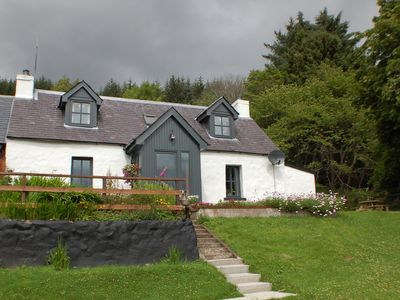 Photo for Remote and Rural Traditional Croft house overlooking Loch Ness
