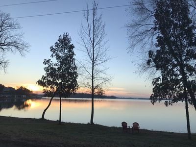 Sunsets are always amazing on the lake at The View!
