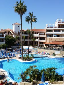 Photo for Tenerife South - Penthouse in a tourist complex with heated pool and Wifi