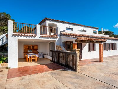 """Photo for Apartment """"Casa Grande La Crucitta"""" Close to Beach with Great Sea View, Terrace & Air Conditioning; Parking Available"""