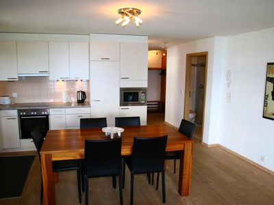 Photo for 5* luxury 2-bedroom-apartment for 4 people located next to the (ski)lift. Modern and spacious living