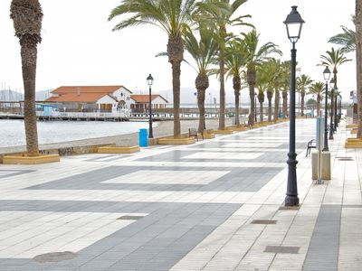 Photo for Ground floor apartment with terrace situated in the center of Los Alcázares