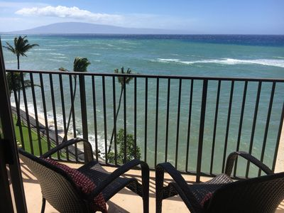 Photo for Sea Glass Condo ★ VIEW ★ Ultra Luxury OCEANFRONT ★ Watch Whales & Turtles