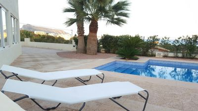 "Photo for Country house a short walk away (76 m) from the ""Playa de Olla"" in Altea with Pool, Terrace (1008938)"
