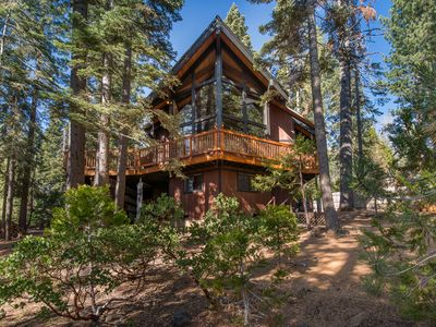 Photo for Large family home! Close to bike path to Tahoe City, and beaches!