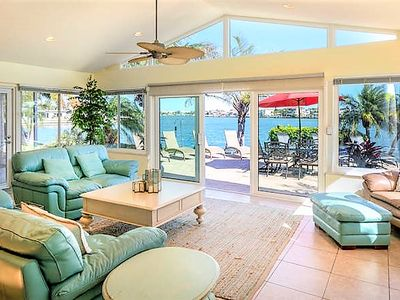 Photo for Spacious Pet Friendly Bay Front Home w/ Waterfront Private Pool & More!