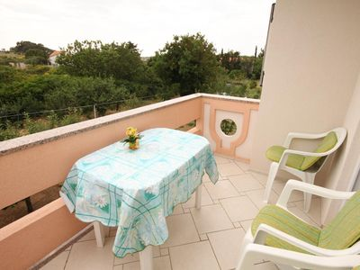 Photo for Two bedroom apartment with terrace Novalja, Pag (A-6490-d)