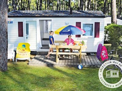 Photo for Camping Lou Pignada ***** - Maeva Camping - Cozy Mobil Home 3 Rooms 4/6 People