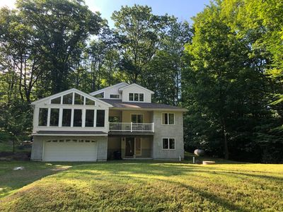 Photo for Large 4 BDR home in Pocono Lake! Private Community with lakes. New construction