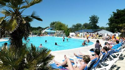 Photo for Camping Les Grosses Pierres ***** - Chalet 4 Rooms 6 People