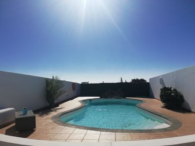 Photo for 3 bedroom Villa, sleeps 5 with Pool, FREE WiFi and Walk to Beach & Shops