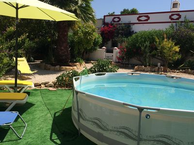 Photo for 4 bedrooms, sleeps 8, pool, barbecue, garden, 15km beach, 20km to the beach