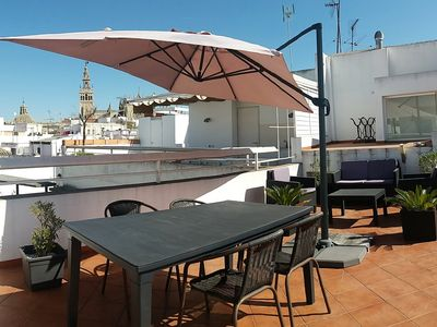 Photo for Fantastic Attic Apartment with Private Terrace in El Arenal of Seville