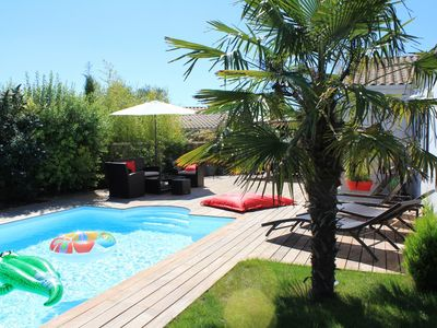 Photo for HOUSE BRIGHT - HEATED POOL AND TERRACE 2 MIN FROM THE CENTER OF LA ROCHELLE