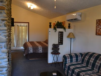 Photo for 1 Bedroom Romantic Safari Hideaway - Pet Friendly -  Minutes from everything!