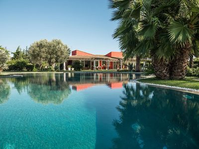 Photo for Il Giardino degli Dei - Luxury villa in Agrigento with a large pool and garden