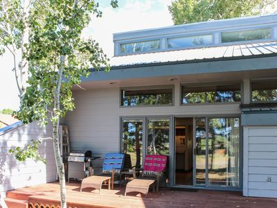 Photo for NEW LISTING! Two-level condo w/patio, near golf & hot springs - dog welcome
