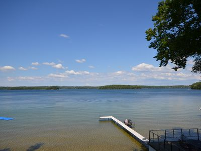 Photo for Waterfront cottage in Traverse City, air conditioning, pet-friendly