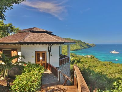 Photo for 5* HIBISCUS Cottage* Breathtaking VIEWS- Incredible INFINITY POOL-Amazing ISLAND
