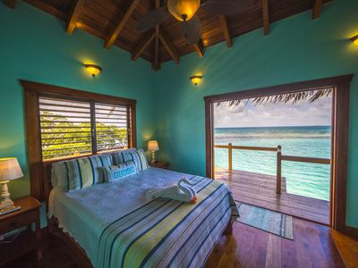 Little Peter Oasis BELIZE PRIVATE ISLAND RENTAL WITH OVER WATER