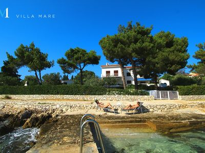 Photo for Villa Mare **** / Luxury holiday house on the beach in Vranjica (Trogir Riviera)