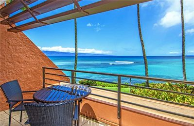 Photo for KUL613 - Oceanfront Remodeled Vacation Rental in West Maui—Great Value & Views—1BR/1BA