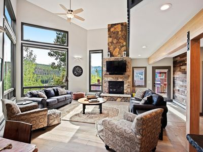 Photo for *New* Chic Mountain House with Gorgeous Views!