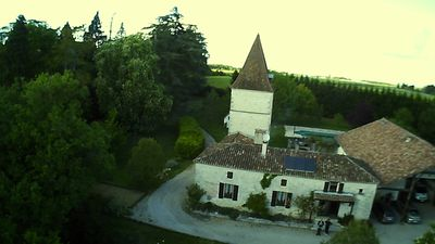 Photo for Large stone house with pigeonnier and independent swimming pool on 1hecta