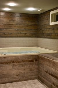 Gorgeous indoor spa, restorative sauna, serene yoga room in private community