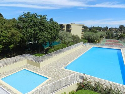 Photo for FAVIERE T1 in residence with pool and tennis near beaches and shops