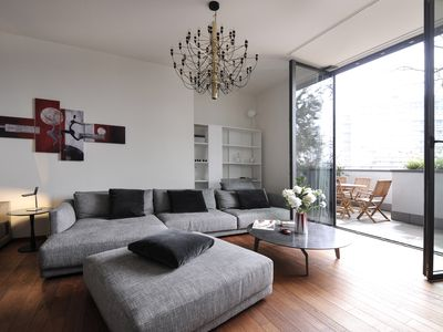 Photo for Gorgeous 2 bedroom with terrace in Vertical forest building in MIlan