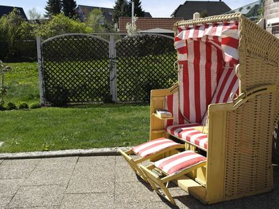Photo for Holiday apartment in Travemünde with central location, terrace and beach chair