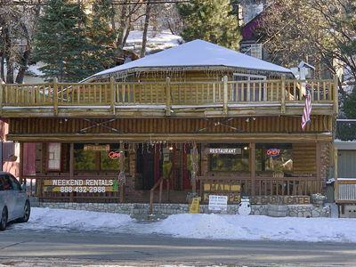 Photo for Large Lake View Log Home w/ kitchen
