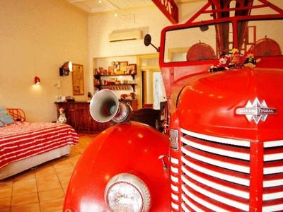 Photo for Fire Station Inn - Fire Engine Suite with Spa