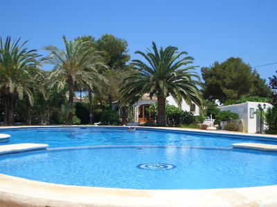 Photo for Rustic villa in the span. Style, large swimming pool with children's pool
