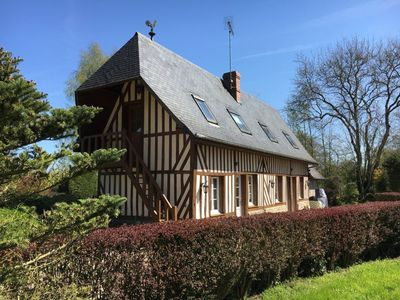 Photo for Charming house in Normandy, quiet and bucolic 30 minutes from Deauville, Honfleur