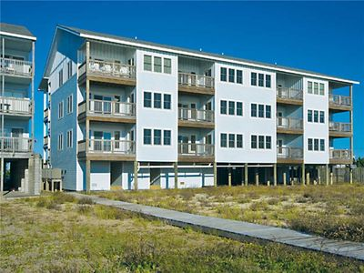 Photo for Tranquil Oceanfront Condo, Rodanthe- Resort Pool & Elevator, Boardwalk to Beach