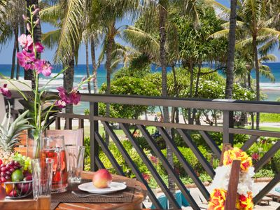 Photo for SPRING RATES REDUCED! Ocean&Pool View Beachfront 3rd Floor Penthouse Villa 309