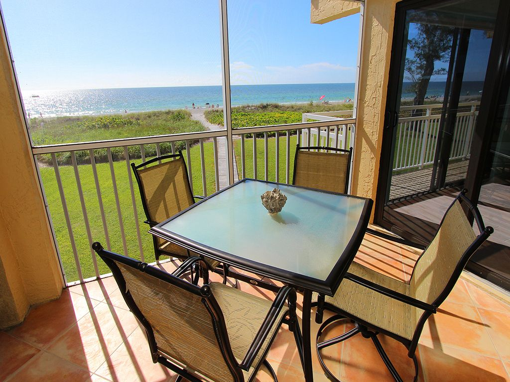 Gulffront #103: 2 BR / 2 BA Condo on Longboat Key by RVA, Sleeps 6