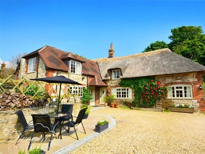 Photo for FORGE HOUSE, pet friendly, with a garden in West Lulworth, Ref 994204