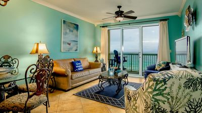 Photo for Caylpso Resort-Oceanfront Condo 4th Fl, FREE Beach Service open summer dates book now!