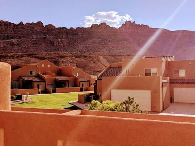 Photo for Cairn House ~ 4A7: 3 BR / 2.5 BA twin home in Moab, Sleeps 11